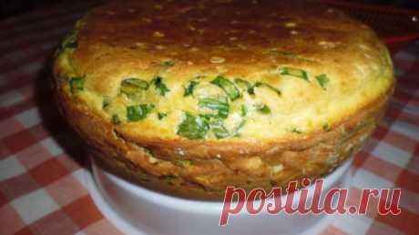 Рецепт сытного и вкусного пирога с луком и яйцом - Скатерть-Самобранка - медиаплатформа МирТесен