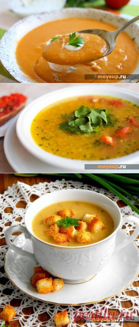 Чечевичный суп-пюре - оригинальный рецепт с фото