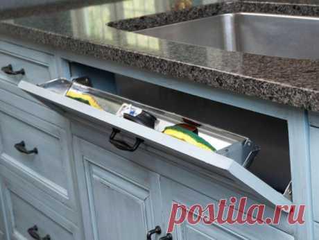 Примеры хранения на кухне. Очень милые идеи! — Полезные советы