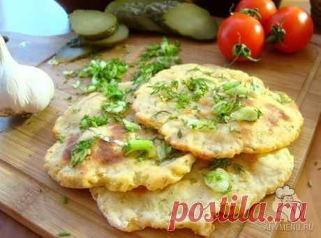 Ароматные картофельные лепешки (постные)