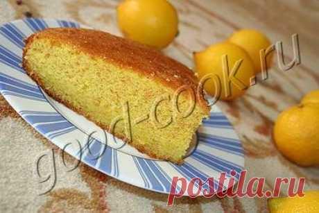 простой лимонный пирог   Хорошая кухня   Яндекс Дзен