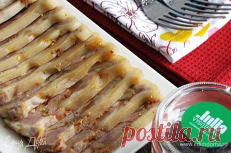 Свиная рулька прессованная рецепт 👌 с фото пошаговый | Едим Дома кулинарные рецепты от Юлии Высоцкой