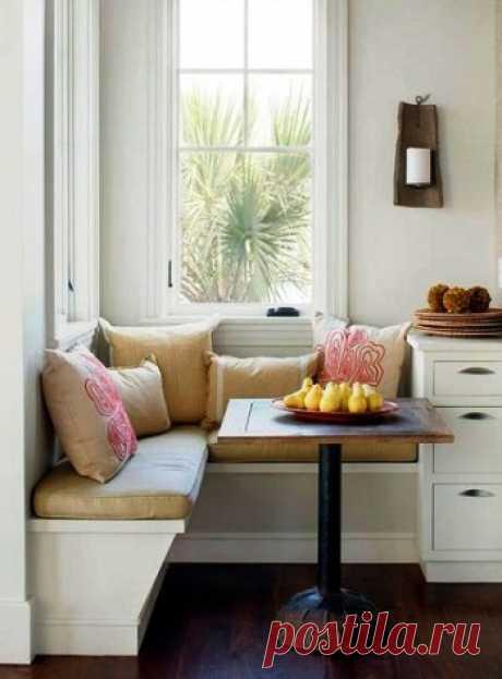 Специально для небольших квартир — обзор оригинальных идей для обеденной зоны на кухне
