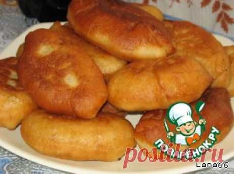 Пирожки на заварном дрожжевом тесте - кулинарный рецепт