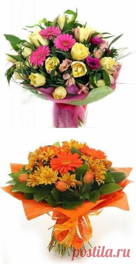 Безупречная хозяйка. Как сохранить подаренные цветы свежими? Несколько простых секретов.