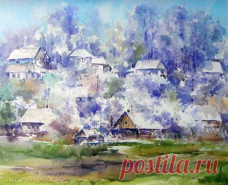 Весна идет-весне дорогу!.. Художник Игорь Хайков.