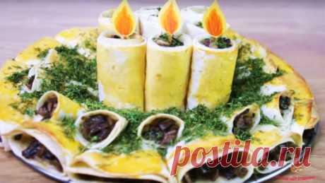 Закуска из лаваша на праздник - Лучший сайт кулинарии