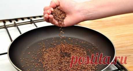 Вот, что происходит с вашим организмом, если вы едите семена льна каждый день в течение месяца! | Golbis