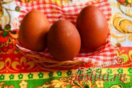 Как правильно красить яйца в луковой шелухе, чтобы они были ровными
