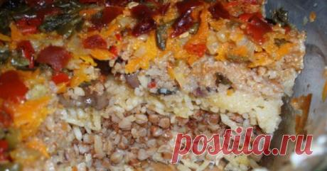 El plato simple nutritivo y muy sabroso para el puesto — la papilla Conventual