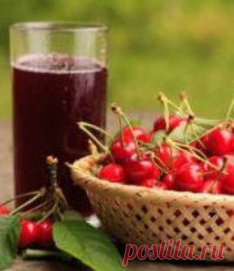 Cherry and sweet cherry compote: 2 recipes