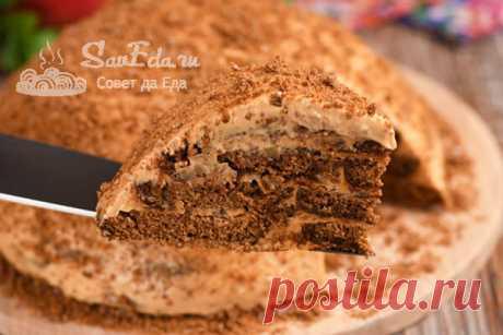 Торт из пряников с кремом из ряженки (готовить просто и очень вкусно) | Совет да Еда | Яндекс Дзен