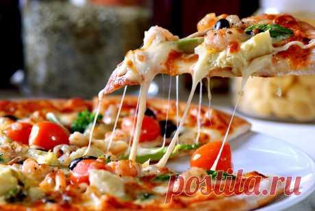 ДОМАШНЯЯ ПИЦЦА быстро и легко - Тесто для пиццы рецепт Готовим дома очень быстро и вкусно пиццу с томатами, маслинами, салями и сыром. Очень вкусная домашняя...