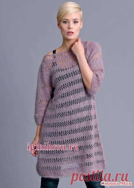 Туника- платье - Вязание спицами - Страна Мам