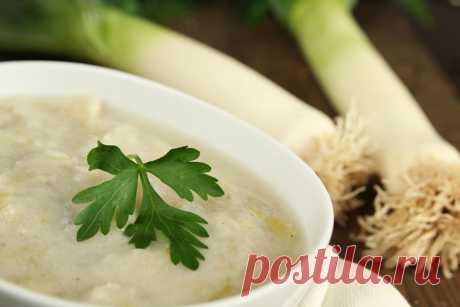 Вкусный картофельный суп.