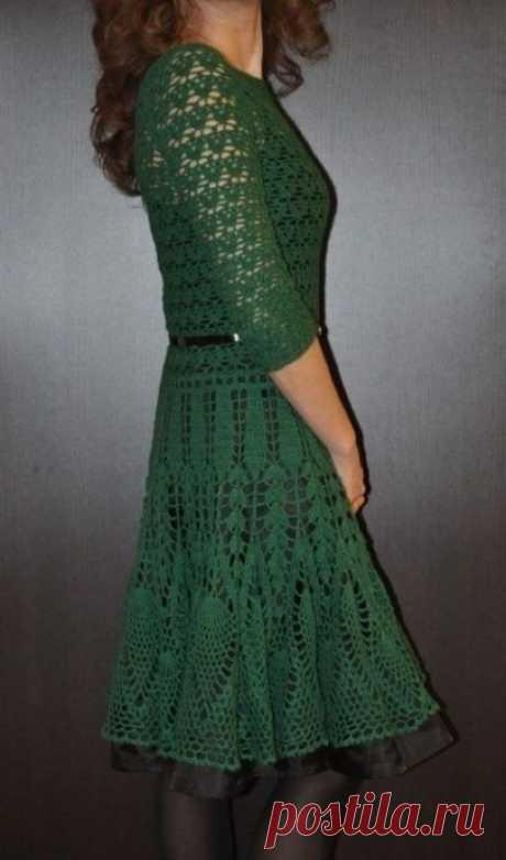 Нежное женственное платье