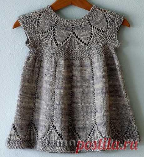 Платье ажурное для девочки