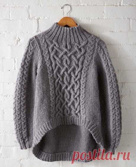 Оригинальный пуловер — Сделай сам, идеи для творчества - DIY Ideas