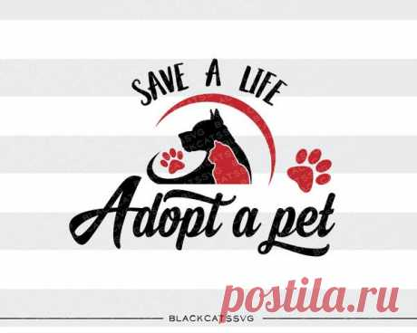 Save a life, adopt a pet -  SVG file Cutting File Clipart in Svg, Eps, Dxf, Png for Cricut & Silhouette - Bloodhound  svg Save a life, adopt a pet -- SVG file This is not a vinyl, the file contains only digital files, and no material items will be shipped. This is a digital download of a word art vinyl decal cutting file, which can be imported to a number of paper crafting programs like Cricut Explore, Silhouette and some other cutting ma