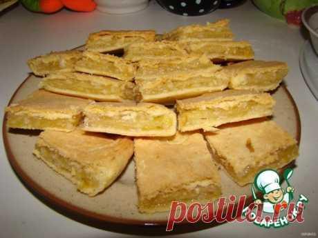 Лимонный пирог №2 Кулинарный рецепт