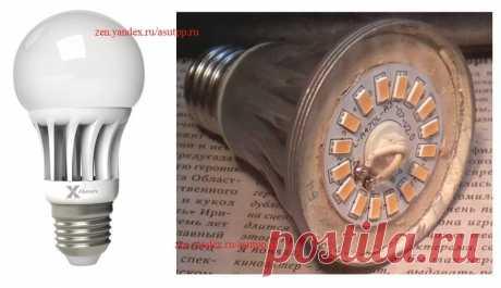 Схема, назначение деталей и описание работы драйвера светодиодной лампы   Заметки Электрика   Яндекс Дзен