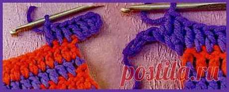 Прибавление петель при вязании крючком. - Практические советы - Уроки вязания крючком - Вязание крючком, мотивы, схемы для вязания крючком