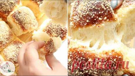 Дрожжи больше не нужны — показываю, как приготовить вкуснейшие булочки с крошкой на домашней закваске 👍 | Каролька и Васька | Яндекс Дзен