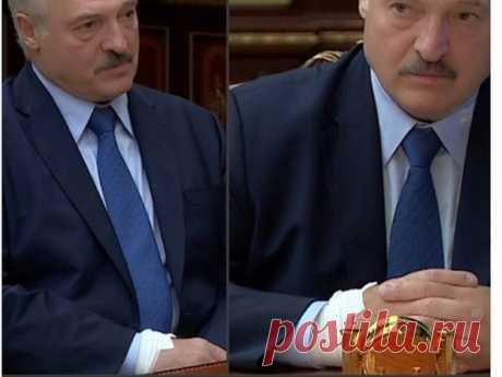 Лукашенко проводил совещание Совбеза с катетером в руке - МК