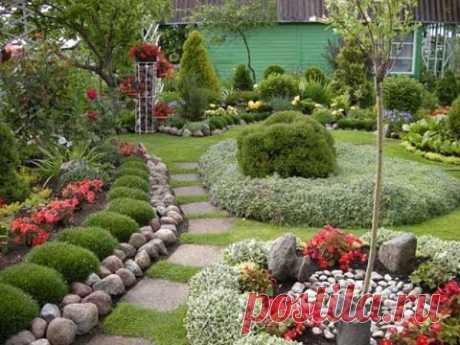 Как превратить деревенский огород в цветущий оазис