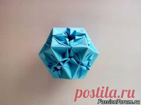 Оригами кубооктаэдр. Многогранник из бумаги - запись пользователя Getera (Александра Смирнова) в сообществе Работа с бумагой в категории Оригами Интересная оригами модель многогранника - Кубооктаэдр. Сделать такую модель очень просто, используя бумагу размером 8*8 см. или иной другой размер в зависимости от ваших предпочтений.