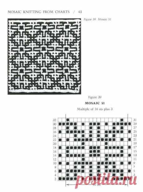 """Mosaic Knitting"" 1997г"
