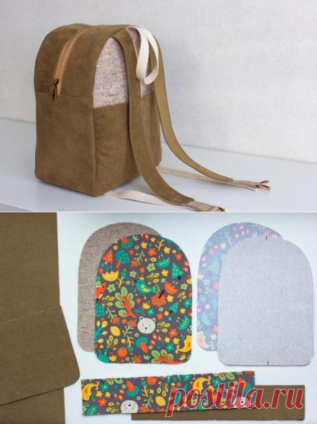 Как сшить рюкзак — Сделай сам, идеи для творчества - DIY Ideas