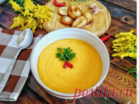 Тыквенный крем-суп, который понравится даже мужчине, рецепт с фото