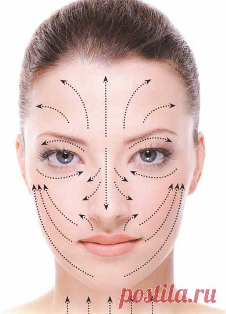 Массаж лица от морщин - для эффективного омоложения кожи. Правила и техника «действенного» массажа лица от морщин