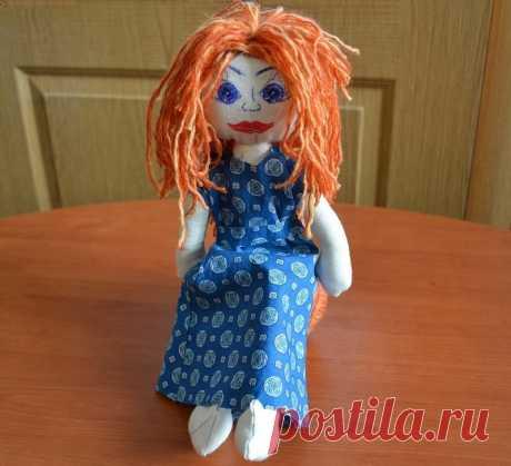 Кукла тильда своими руками | Как сделать выкройку и сшить мягкую куклу