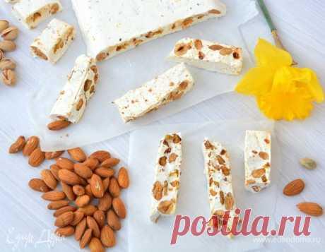 Туррон. Ингредиенты: орехи, мед, сахар | Официальный сайт кулинарных рецептов Юлии Высоцкой