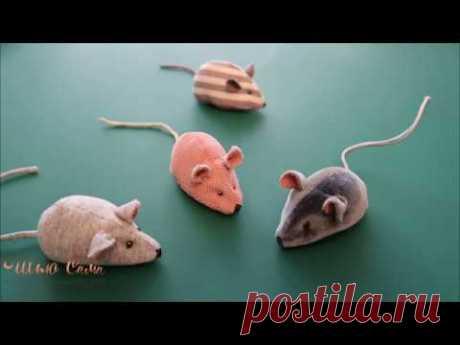 Как сшить мышку Выкройка прилагается