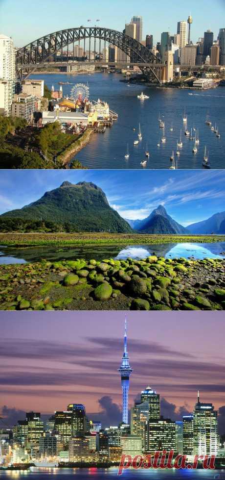 Что интересного в Новой Зеландии?