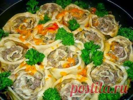 LAZY PELMENI. TASTY, BEAUTIFULLY ALSO PREPARES AS EASY AS SHELLING PEARS | About retseptik - the best culinary recipes for you!