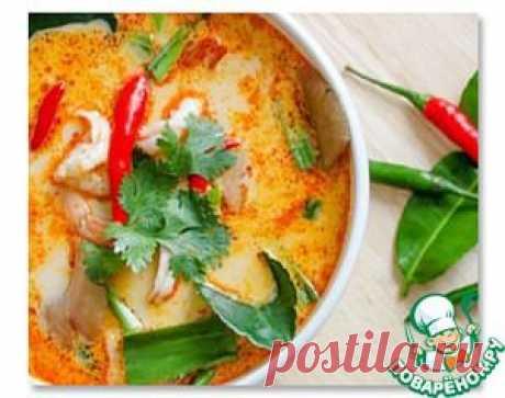 Тайский суп Том Ям - кулинарный рецепт