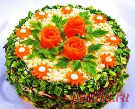 Праздничный закусочный торт - просто, вкусно и эффектно! - ЖЕНСКИЙ МИР - медиаплатформа МирТесен