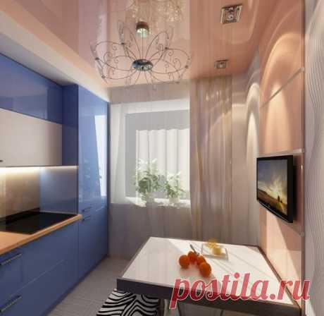 Дизайн маленькой кухни 5 квадратных метров: фото