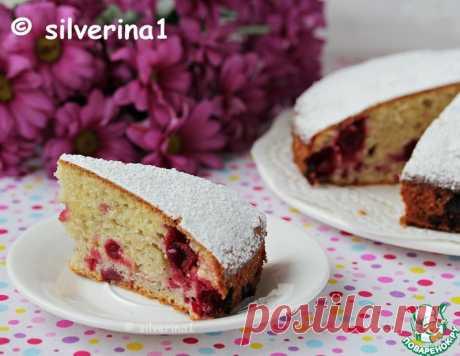 """Пирог с ягодами """"Домашний"""" – кулинарный рецепт"""