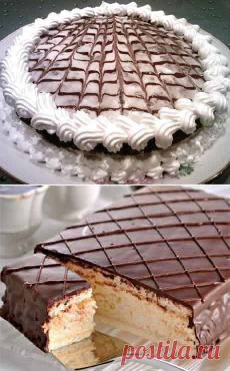 """Торт """"Птичье молоко"""" (два способа)"""