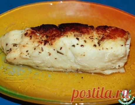 Палтус с пряным маслом – кулинарный рецепт
