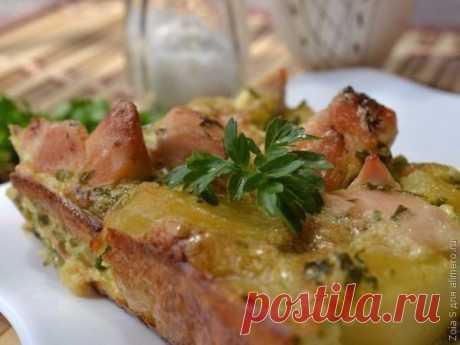Картофельная запеканка с курицей!