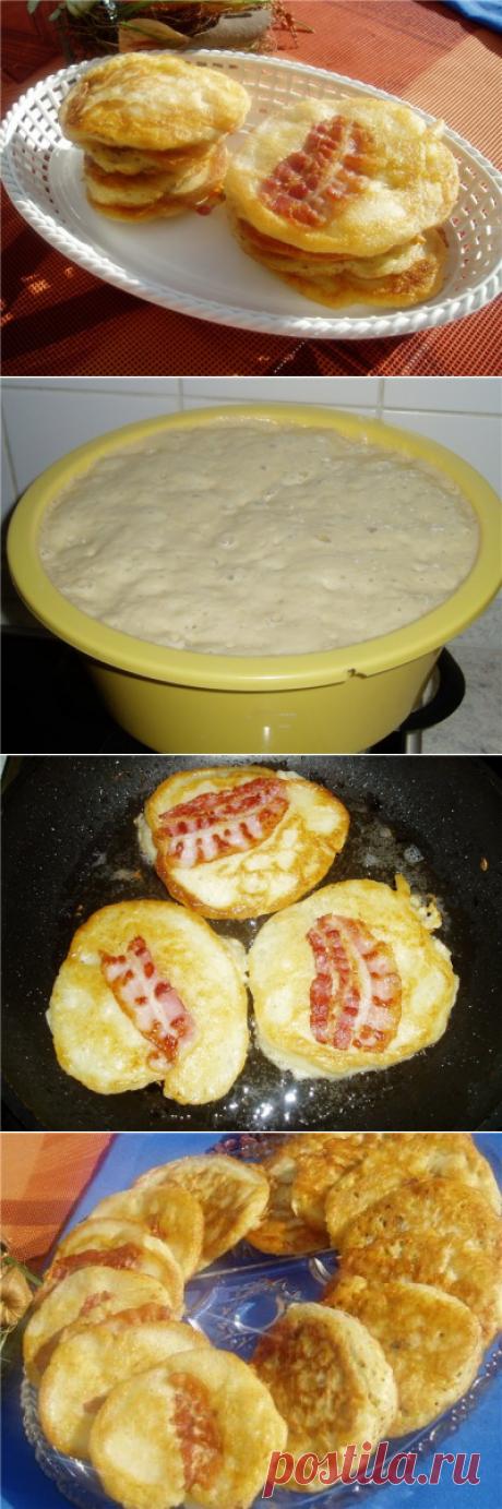 Оладушки «Супружеская парочка» : Блины, оладьи, сырники