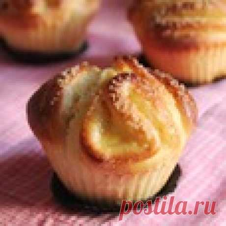 "Булочки а-ля ""Капкейки"" Кулинарный рецепт"