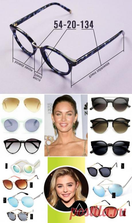 Выбираем очки с оправой, которая подойдет к форме лица — Модный приговор