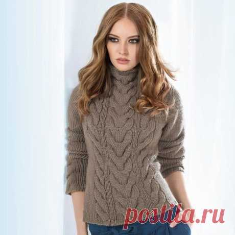 Sweater spokes for women - Knitting by spokes for women - the Catalogue of files - Knitting for children